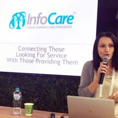 Ana Lovric Infocare at CeBIT 2017
