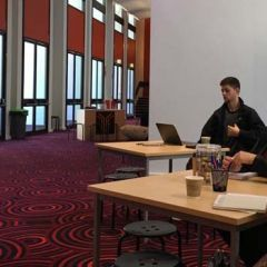 Participants take part in the Deadly Ideas Start-up workshop at Dubbo