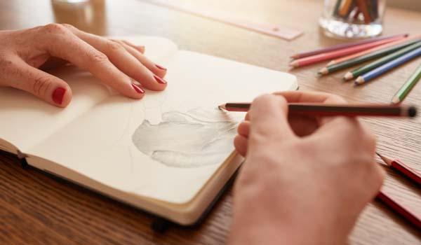 Hand sketching illustration