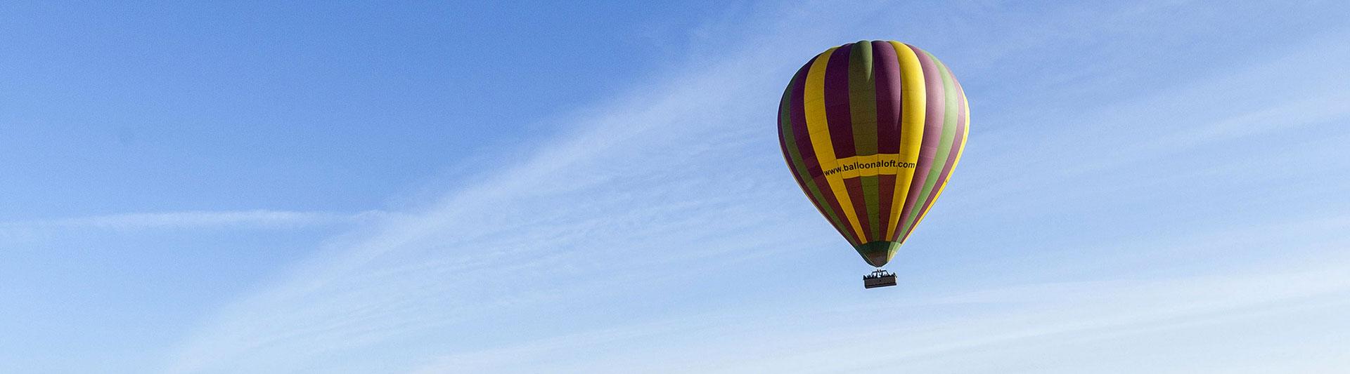 Ballooning in Hunter Valley