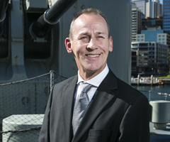 Commodore Scott Director Defence NSW