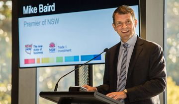 Mike Baird at the 2014 Business Leadership Forum
