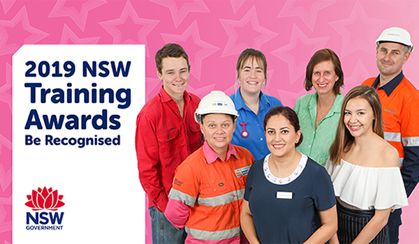 2016 winners of the NSW Training Awards