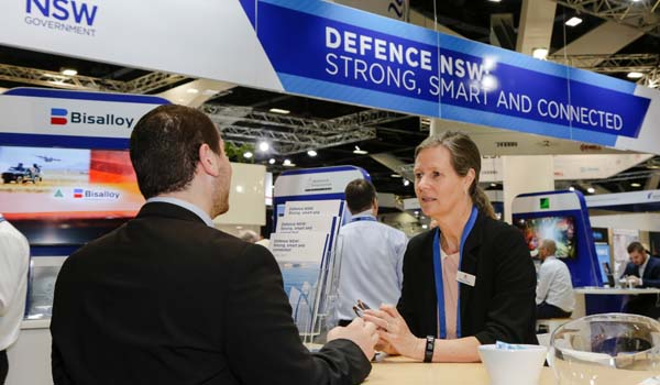 NSW Government stand