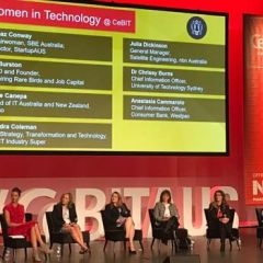 Women in Technology panel at CeBIT 2017