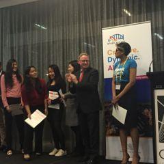 NSW Parliamentary Secretary Ben Franklin MLC with participants at INTERCHANGE 201