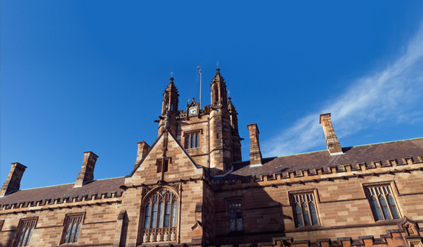 A building at the University of Sydney