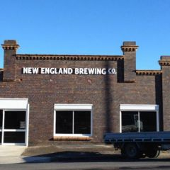 New England Brewing Company building