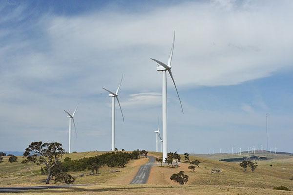Bungedore Wind Farm