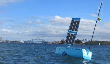 Ocius Technology's Bluebottle on Sydney Harbour