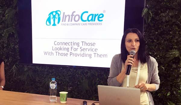 Ana Lovric Infocare at CeBIT 2017
