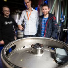 Binary Beer's 'Smart Keg' tracking device