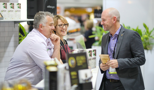Minister for Trade & Industry Niall Blair at the 2017 Fine Food Australia