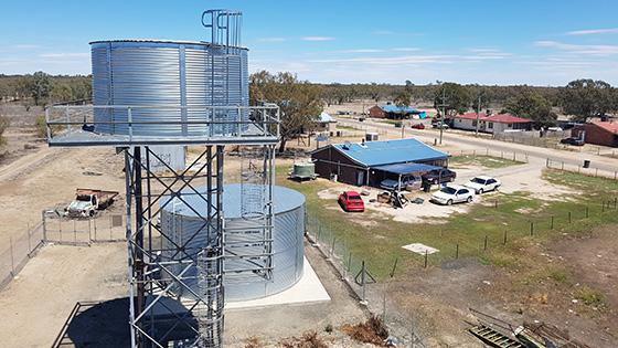 Aboriginal water and sewerage program
