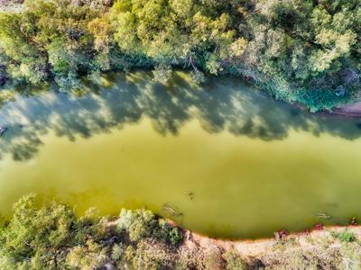 Gwydir River in Moree Plains, NSW.