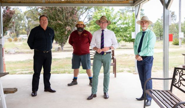 Tingha Gems Caravan Park will get an upgrade with the assistance of $150,000