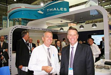 Deputy Premier with CEO Chris Jenkins