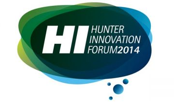 Hunter Innovation Forum 2014 logo