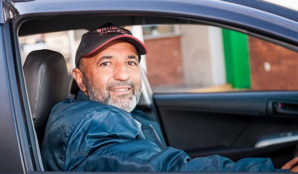 Wollongong Radio Cab driver