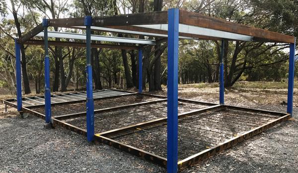 BuiltQuik housing frame