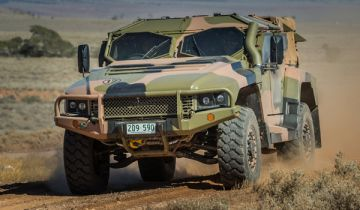 Australian Army Hawkei combat vehicle