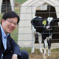 NSW Trade and Investment Commissioner for North and East China Tony Zhang at Walcha Dairy