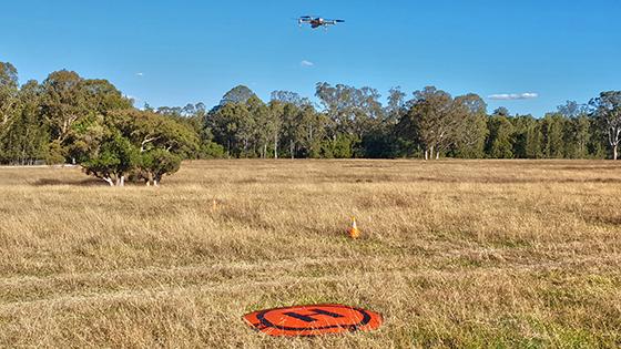 NRAR using drones