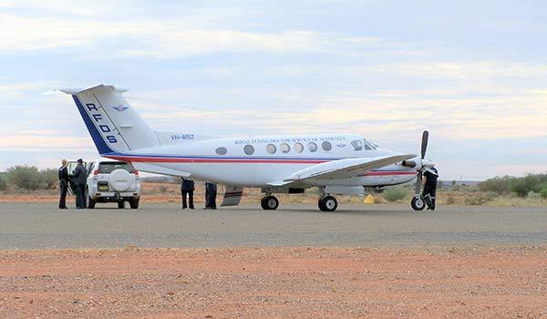Royal Flying Doctor Service at Tibooburra Aerodrome