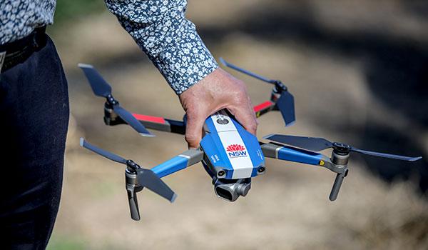 NRAR drone technology
