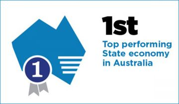 NSW ranked 1st - Top performing State economy in Australa