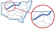 Key catchment map Barwon-Darling