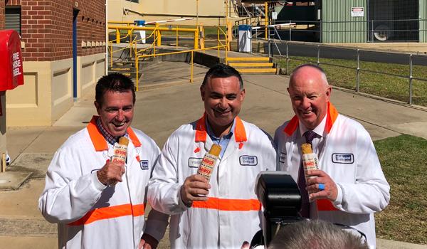 Member of Bathurst, Deputy Premier chiko rolls factory