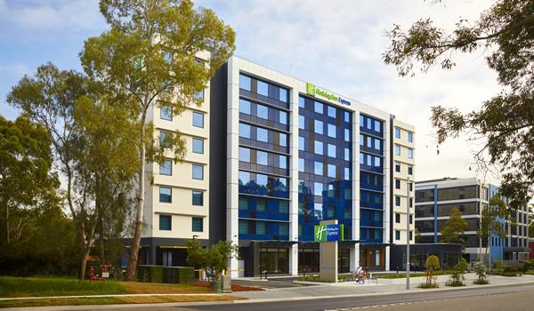 The award winning Holiday Inn Express at Macquarie Park