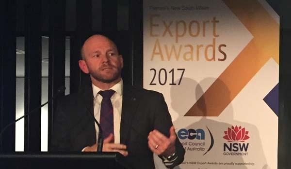 Minister Blair Export Award launch