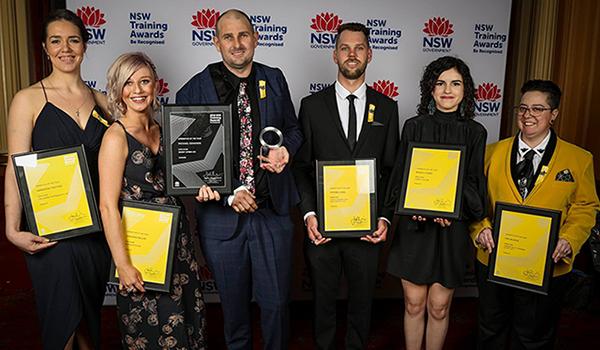 2018 NSW Training Award winners