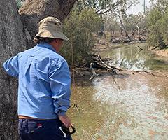 Water Regulator helps preserve water supply at Mungindi