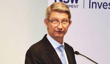 David Olsson addresses the renminbi forum