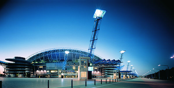 Sydney Olympic Park, which uses SMA inverters on its solar panels