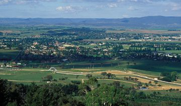 The regional NSW town of Bathurst