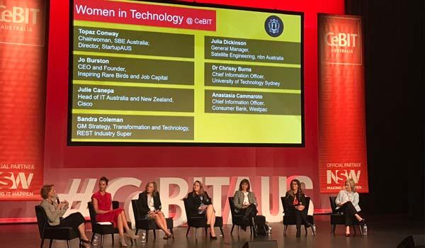 Women in Technology panel at CeBIT 2017