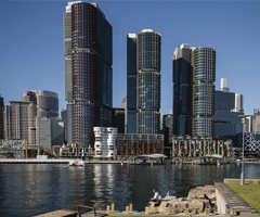 Barangaroo from Darling Island Wharf