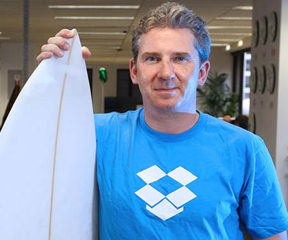 Charlie Wood, Dropbox Country Manager