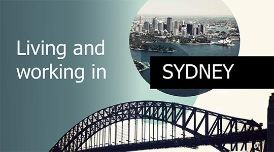 Living and working in Sydney brochure thumbnail