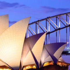 Sydney Opera House and Harbour Bridge