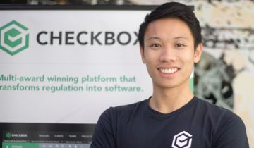 Evan Wong, Checkbox co-founder and CEO.