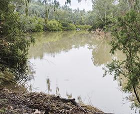 Macintyre River in Kwiambal National Park, NSW.