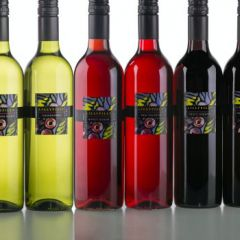 Bottles of Lillypilly wine