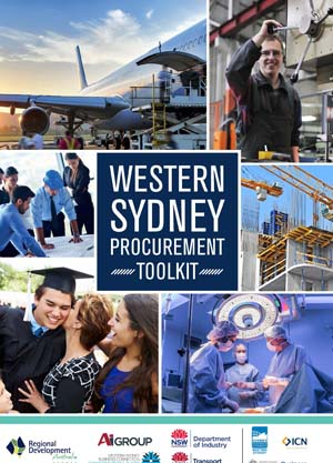 Western Sydney procurement toolkit cover