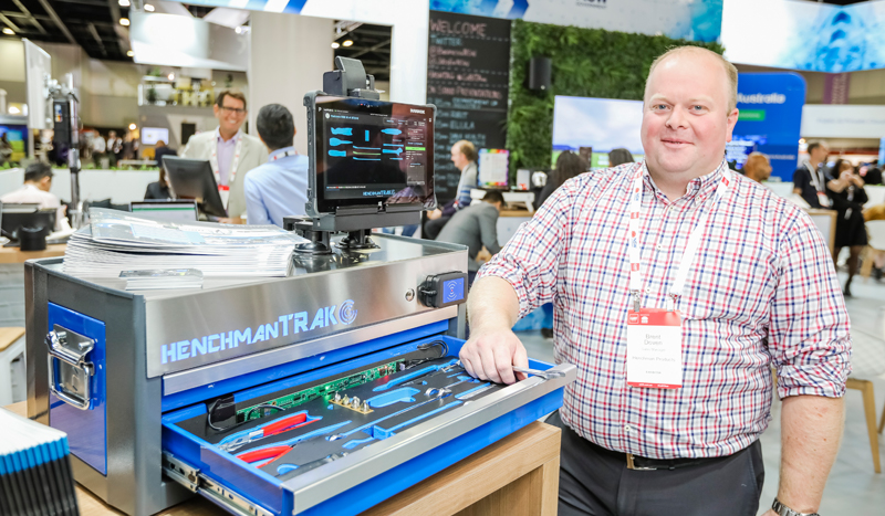 Henchman Products on the NSW Stand at CeBIT 2018