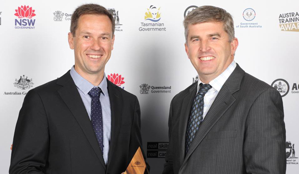 North Construction at the Australian Training Awards